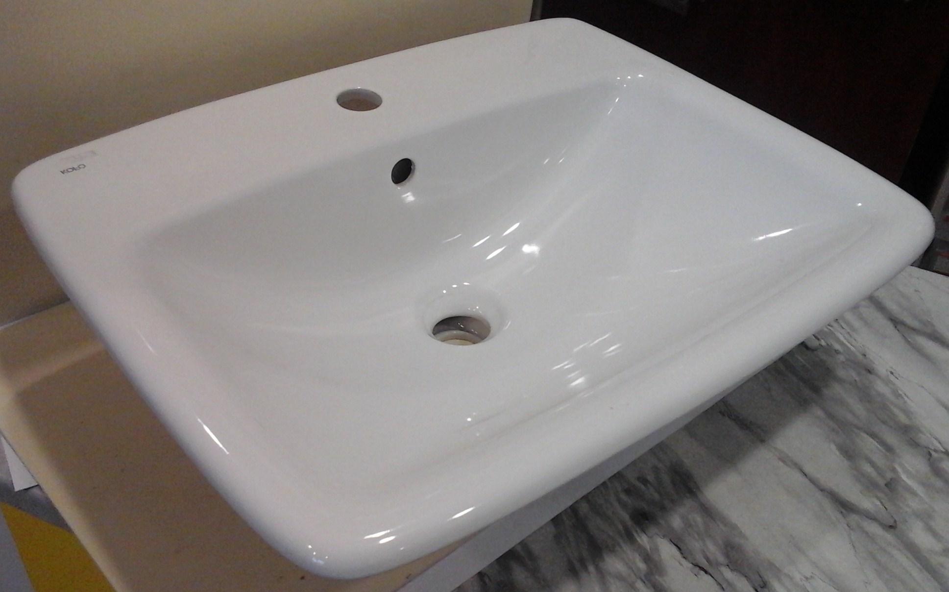 Umywalka 4560 Cm Ceramiczna Wpuszczana W Blat Nova Pro łazienka I Dom
