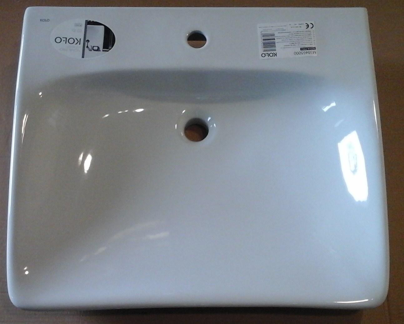 Umywalka Ceramiczna 55x65 Cm Koło Bez Barier